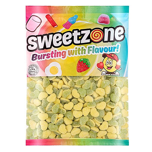 Sweetzone Apple & Custard Hearts - 1kg