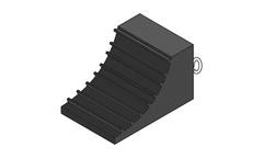 R135 Vehicle Wheel Chock (235 x 160 x 140 mm)