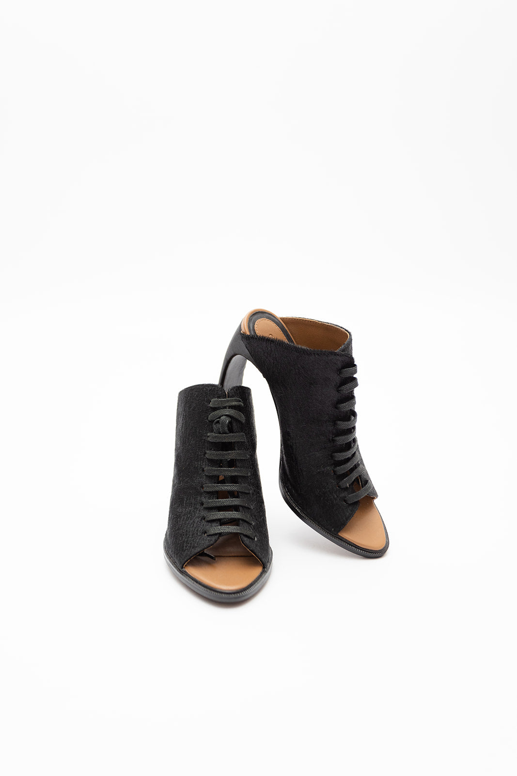 Ginger & Smart Pony Hair Heel