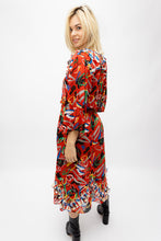 Load image into Gallery viewer, Vintage 80's Printed Dress
