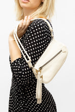 Load image into Gallery viewer, Ferragamo Cream Leather Bag