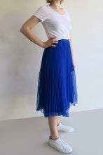 Load image into Gallery viewer, 1950s Pleated Midi Skirt