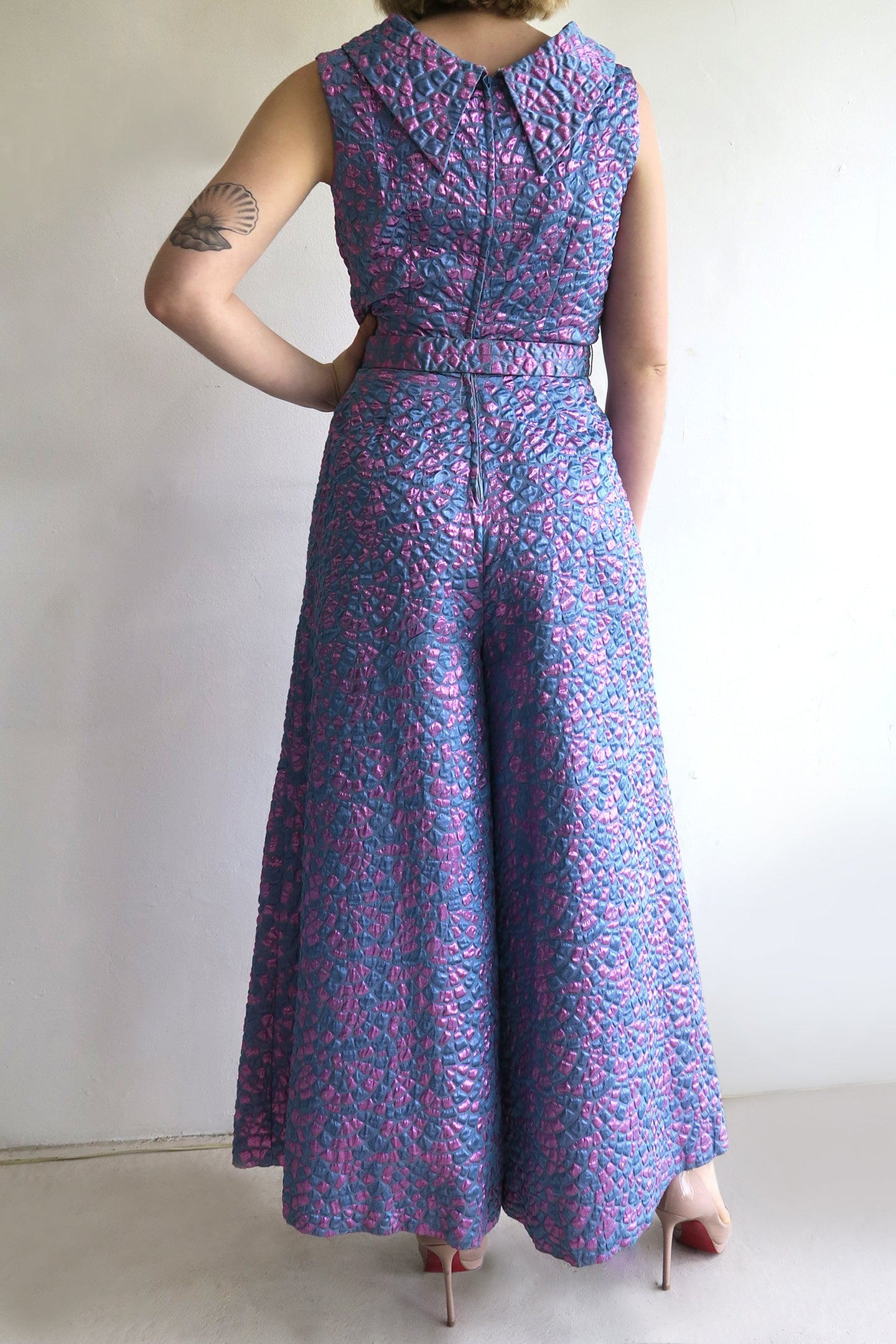 1970s Wide Leg Jumpsuit
