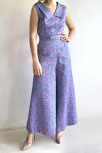 Load image into Gallery viewer, 1970s Wide Leg Jumpsuit