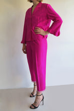 Load image into Gallery viewer, 1990s Hot Pink Silk Two Piece