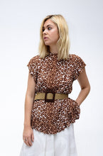 Load image into Gallery viewer, Zimmermann Animal Print Top
