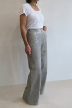 Load image into Gallery viewer, Chanel Vintage Leather Flared Pants