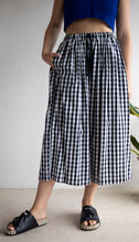 Load image into Gallery viewer, LaBoheme Girls Gingham Culottes