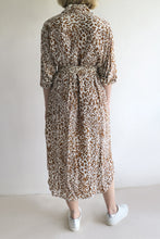 Load image into Gallery viewer, Zimmermann Animal Print Shirt Dress