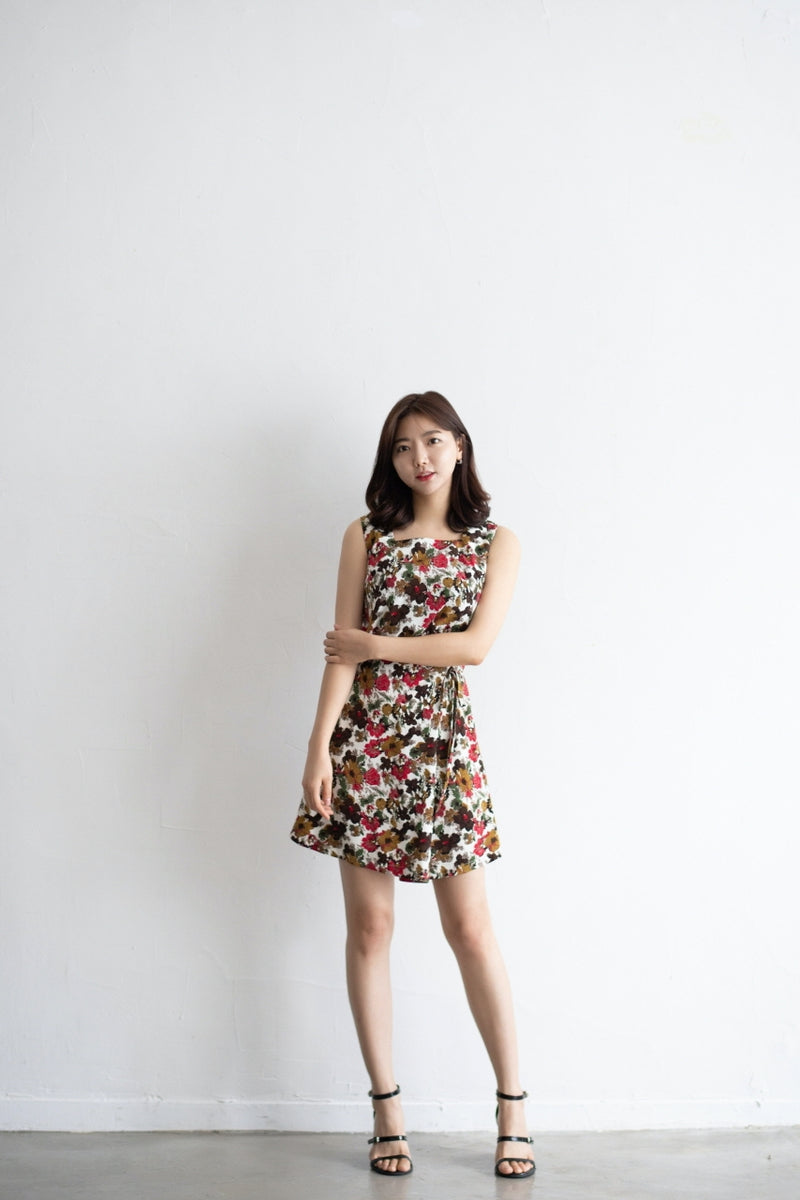 Autumn Flowers Dress