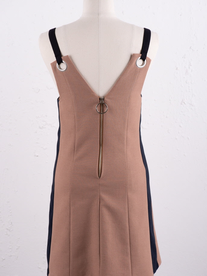 Cute Shoulder Strap Mini Dress