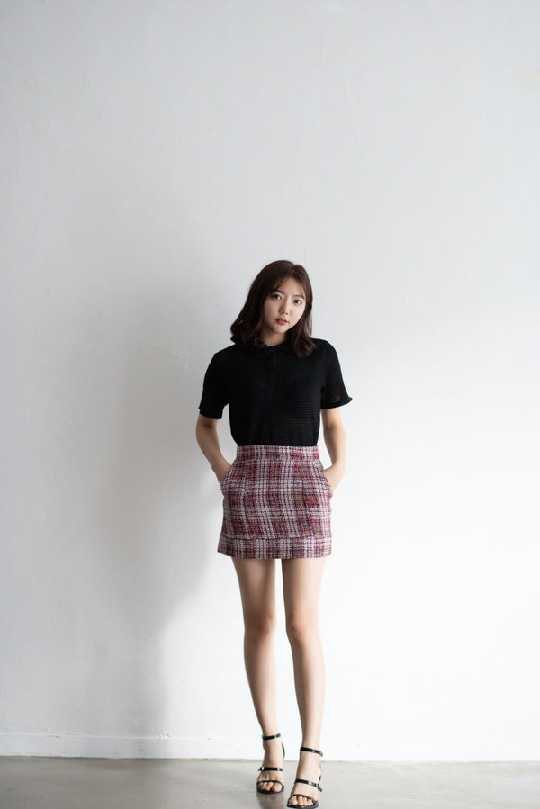 Autumn Tweed Skirt