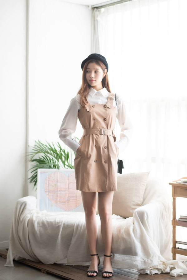 Korea Autumn Shirt And Dress Set