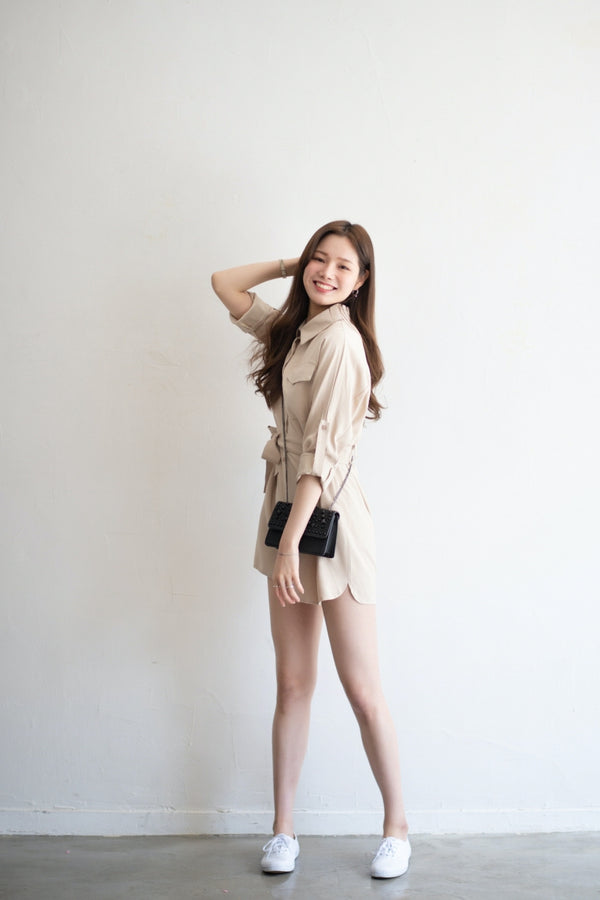 Beige Onnidress Jumpsuit