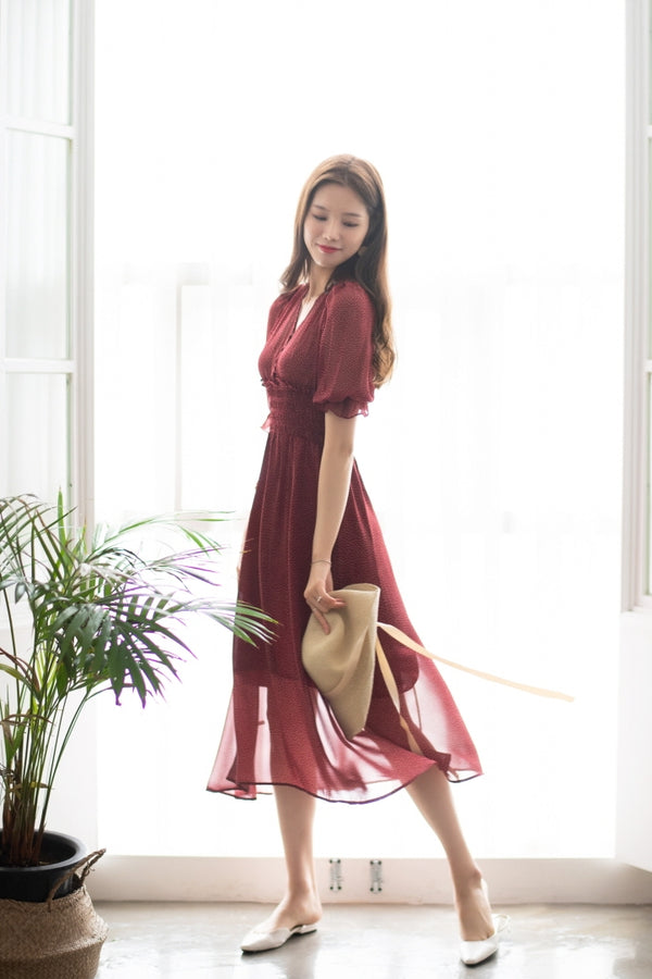 Feminine Long Onnidress