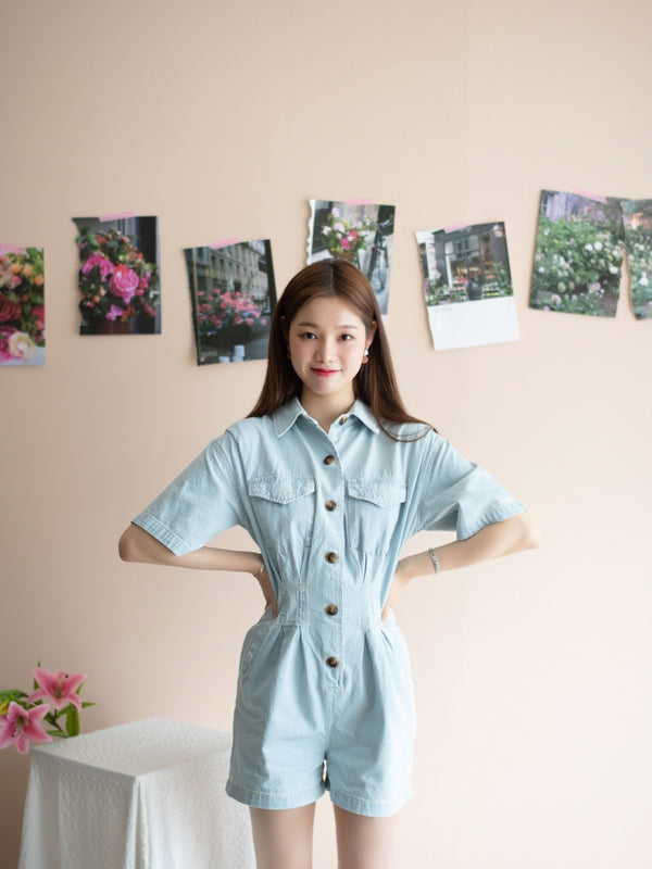 Style Up Denim Jumpsuit