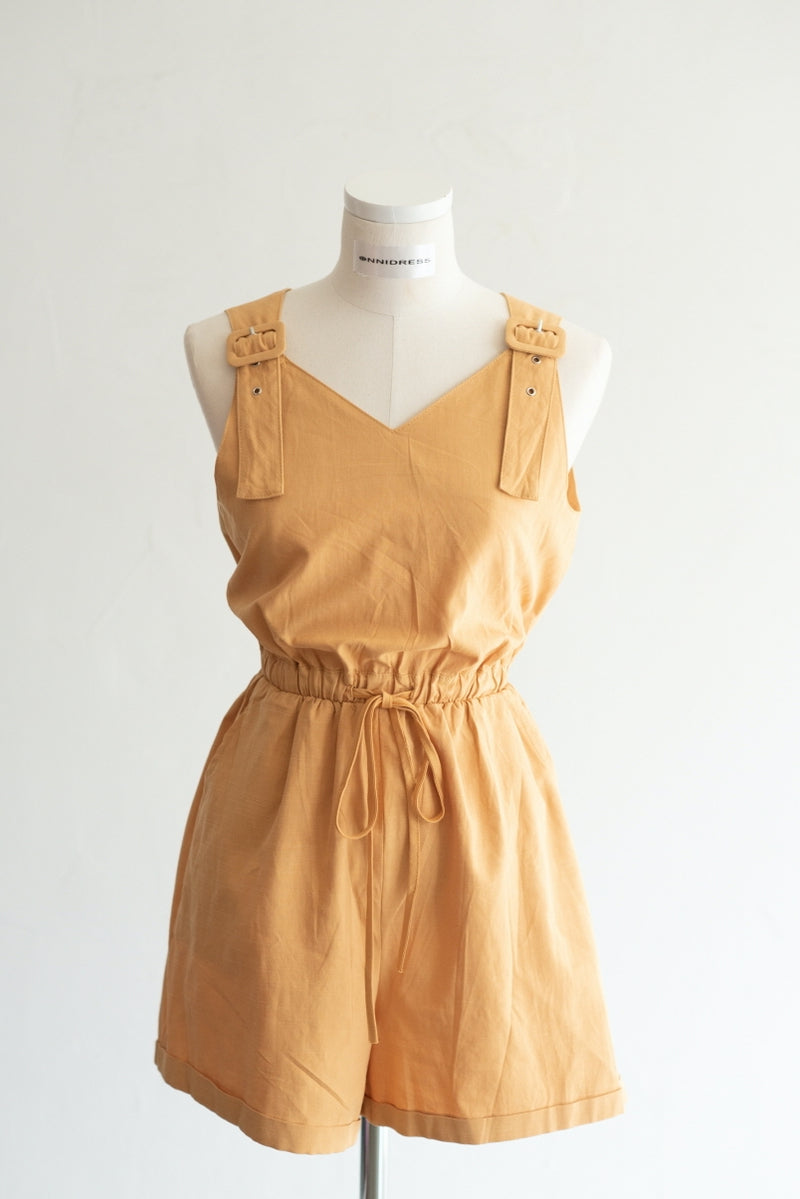 Cute Teen Girl Style Short Jumpsuit