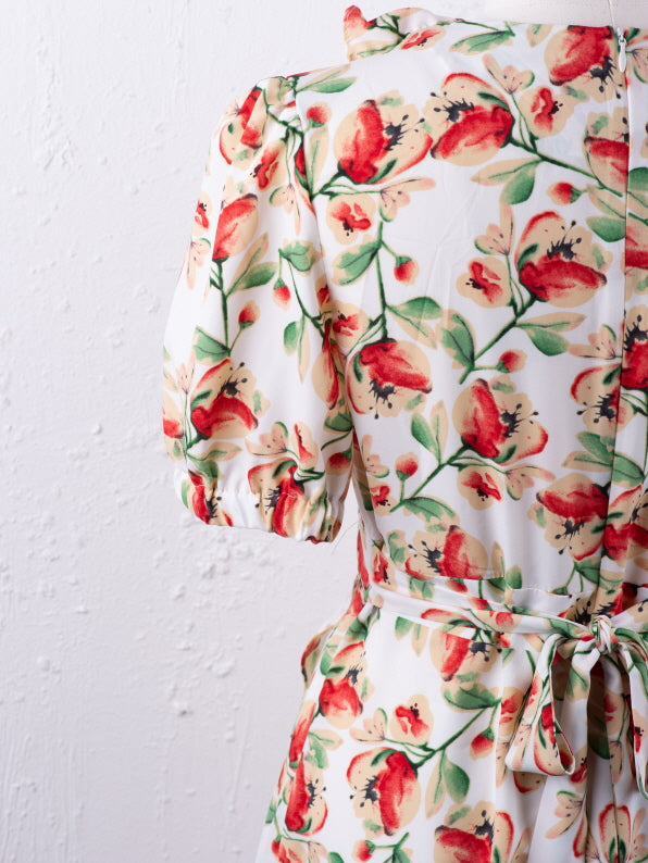 Fresh Flower Printed Dress