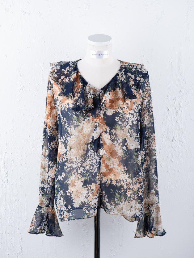 Dazzling Long Sleeve Blouse