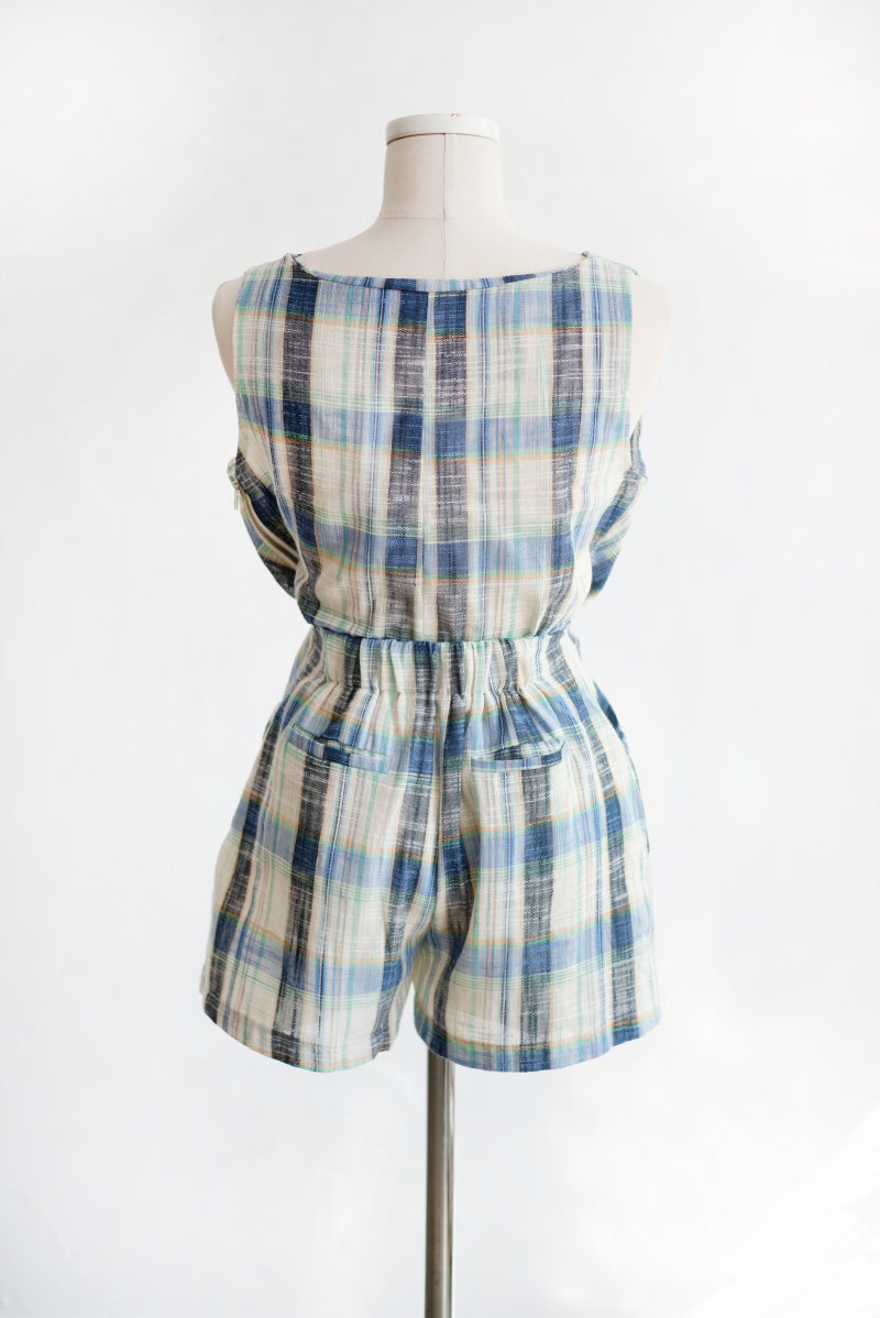 Onnidress First Checked Top and Pants Set