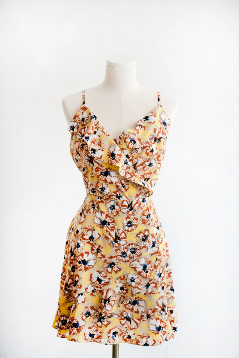 Summer Flower A-Line Dress