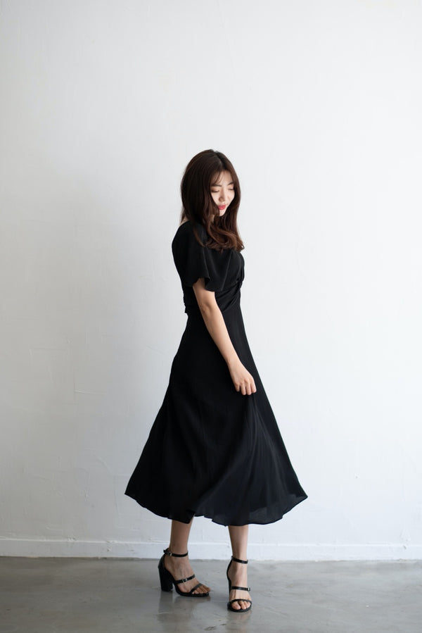Romantic Twist Front Dress