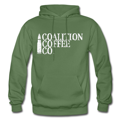 The Bullet Hoodie - military green