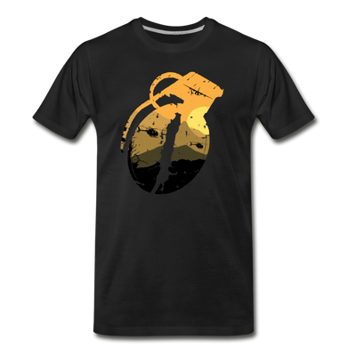 Coalition Grenade T-shirt - black