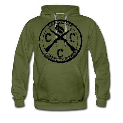 CCC Scope Ring Hoodie - olive green