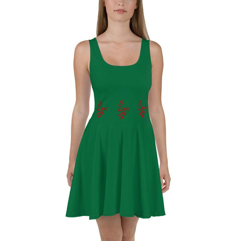 Vestido MUJ3R Hungarian Chick Poison Green - Accesorios Hombr3