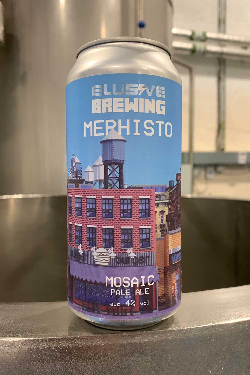 Elusive Brewing Mephisto Mosaic Pale Ale (4.0%), 440ml can