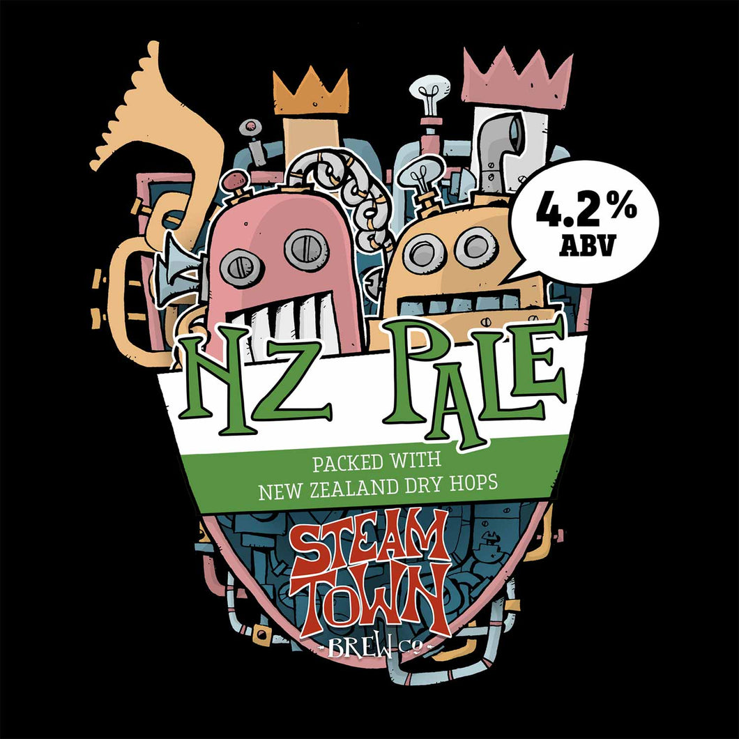 NZ Pale (4.2%), 5L Mini Keg