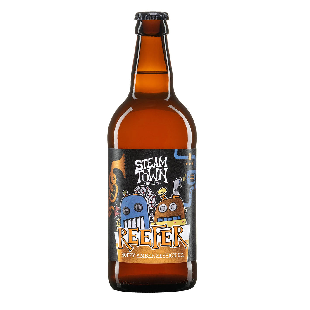 Reefer Amber Ale (4.2%), 500ml Bottle
