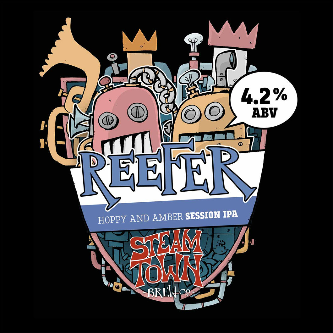 Reefer Amber Ale (4.2%), 5L Mini Keg