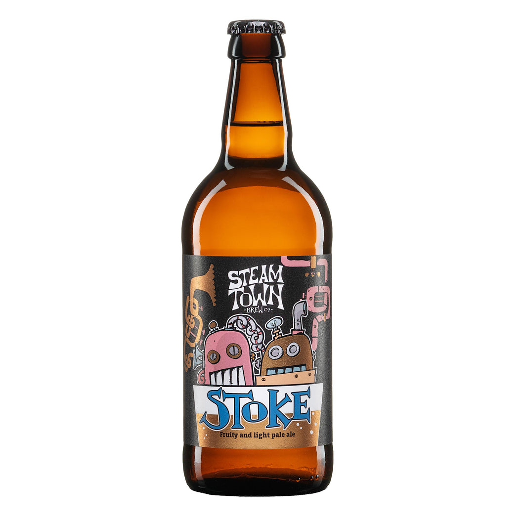 Stoke Extra Pale (3.8%), 500ml Bottle