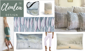 Clonlea Design create beautiful original designs in homewares and textiles. Products include cushions, canvas prints, sports gear, kitchenware etc. Irish artist Elaine Tomlin creates original acrylic art has been transformed into beautiful products.
