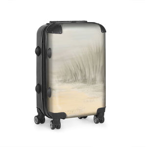 Cabin size suitcase with the The Beach design Elaine Tomlin Clonlea Design