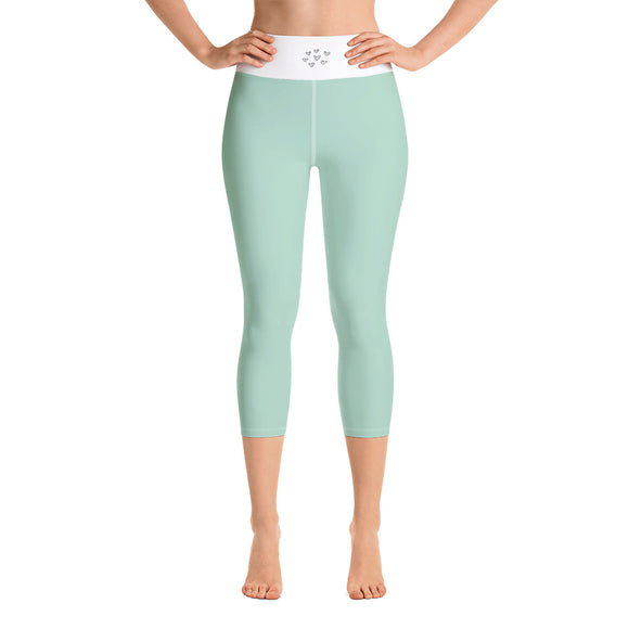 Sports Gear Aspen Wear Yoga Capri Leggings Mint Green
