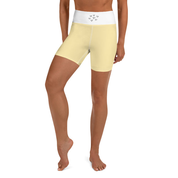 Yoga Shorts Mellow Yellow