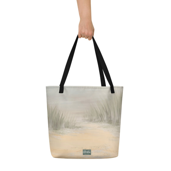 The Beach Designer Tote Bag.  Unique Irish Design