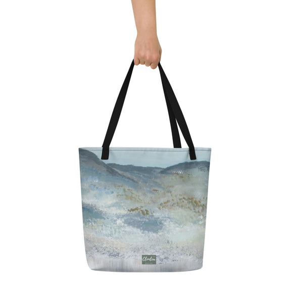 Heather Mountain Tote Bag. Unique Irish Design