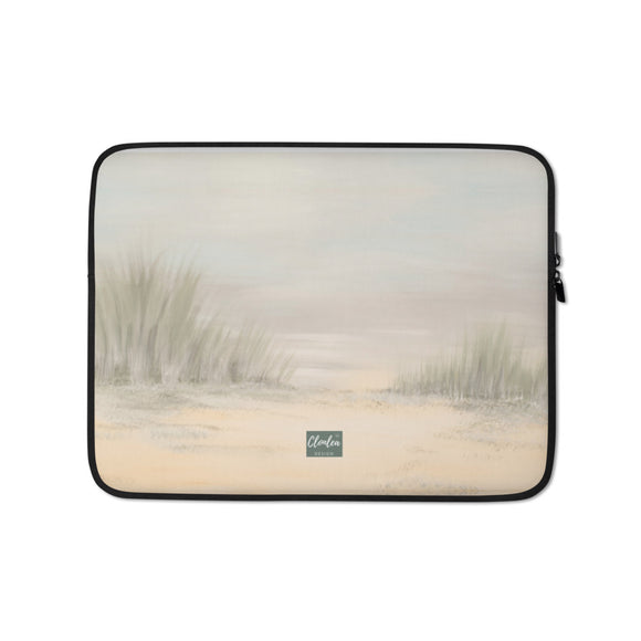 Designer The Beach Laptop Sleeve. Neoprene Case Computer Bag Accessory