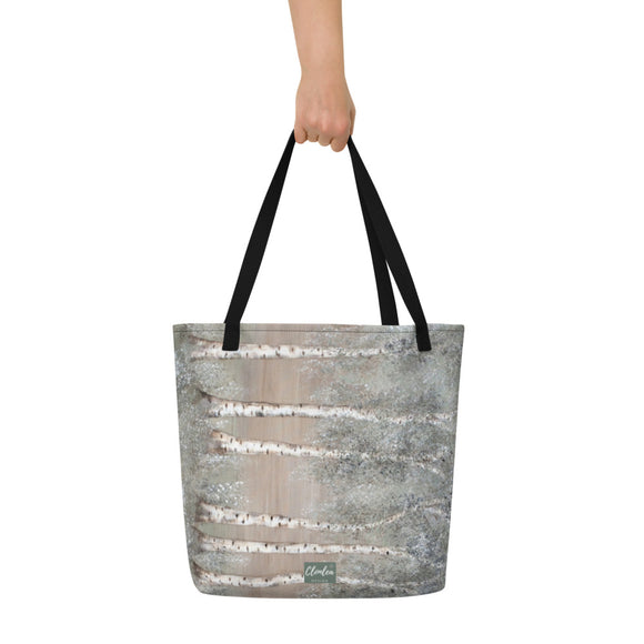 Aspen Afternoon Designer Tote Bag.  Unique Irish Design