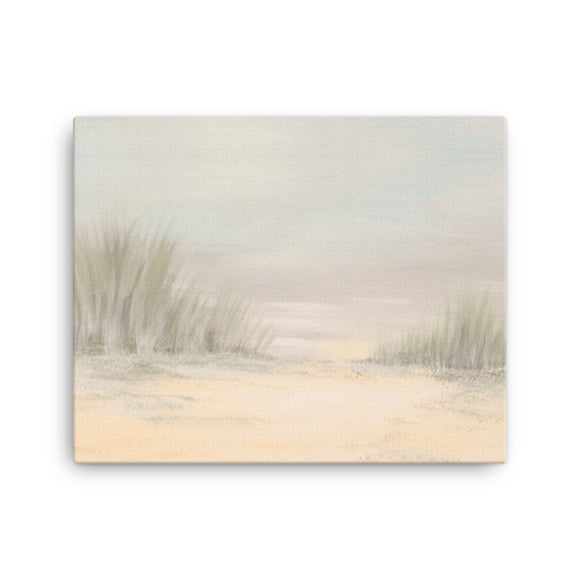 The Beach Canvas Print Clonlea Design Elaine Tomlin home decor wall art Irish Art
