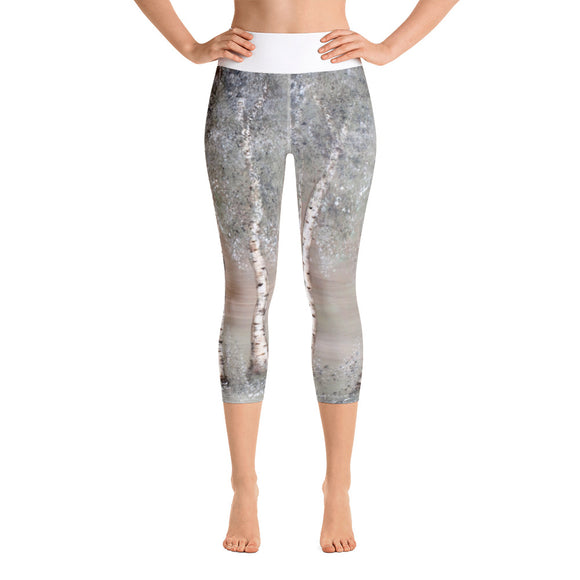 Aspen Design Yoga Capri leggings Clonlea Design gym gear aspen wear sports wear