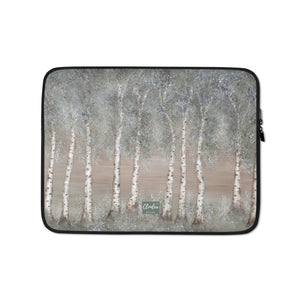 Designer Aspen Laptop Sleeve. Neoprene Case Computer Bag Accessory