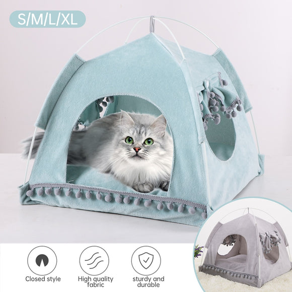 Cat or Dog Tent Bed