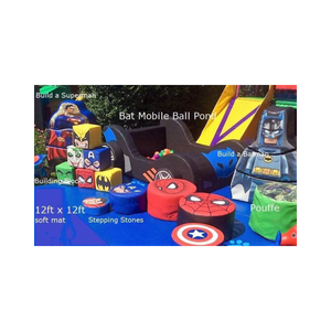 SUPERHERO THEMED SOFT PLAY