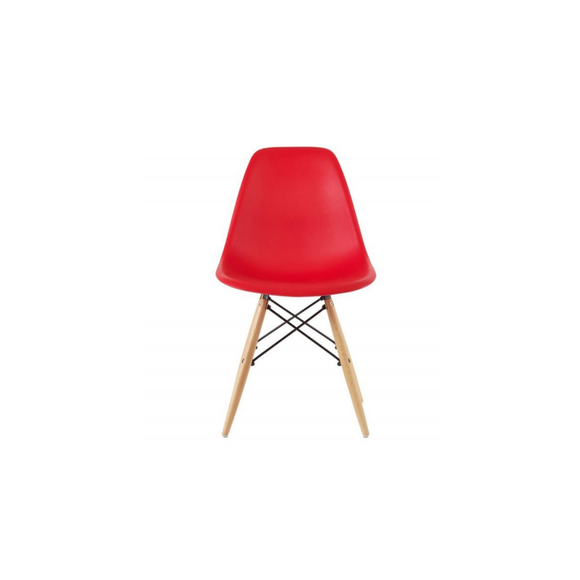 RED ADULT EAMES CHAIR