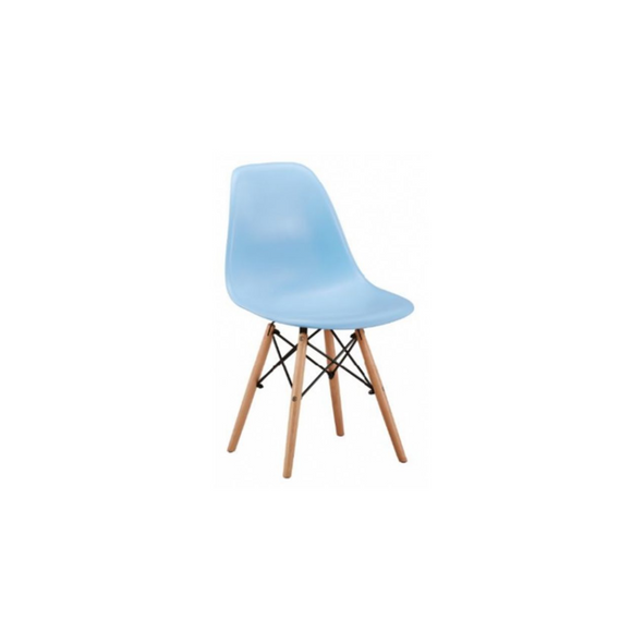 BLUE ADULT EAMES CHAIR